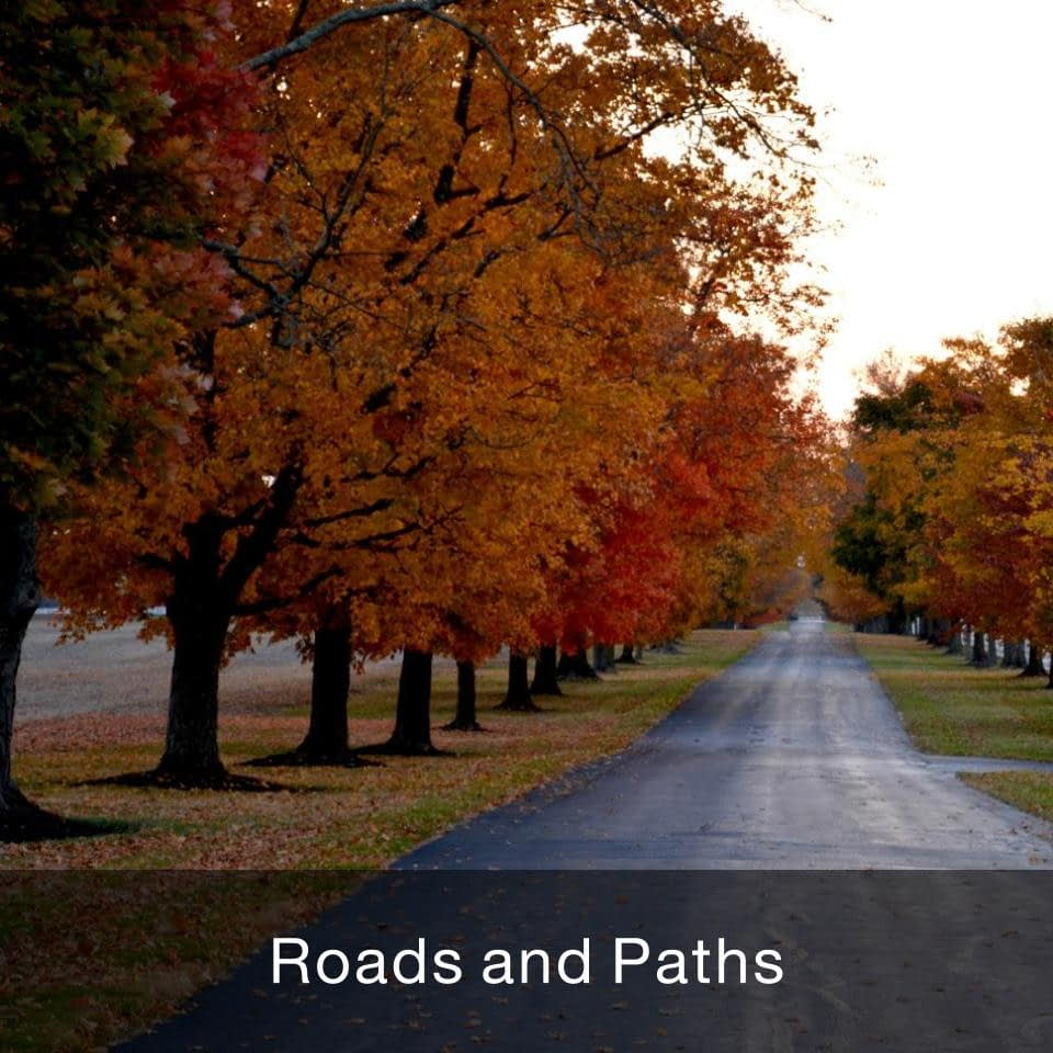 Roads and Paths